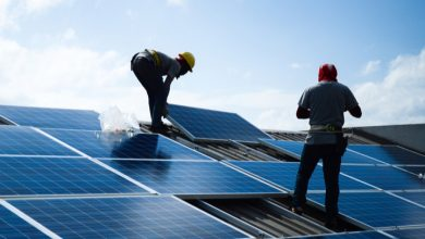 rooftop solar photovoltaic (pv) installation